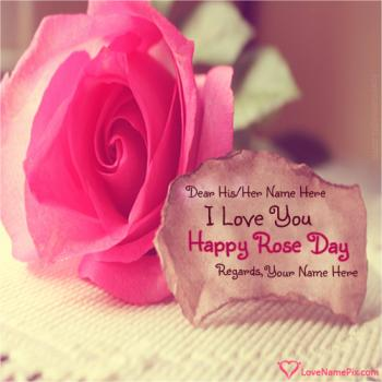 I Love You Happy Rose Day Greetings