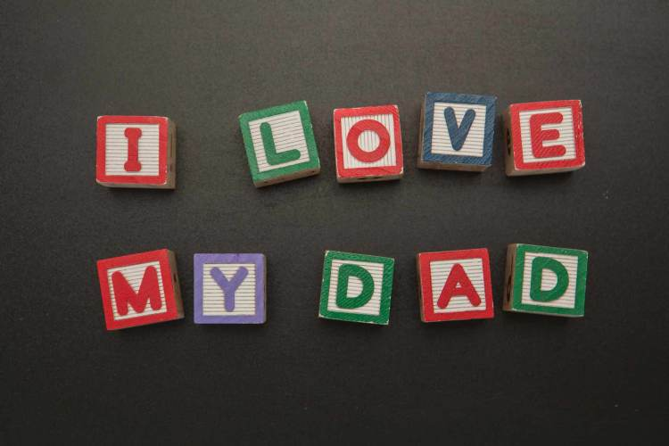 I Love You My Dad Happy Father's Day Wallpaper
