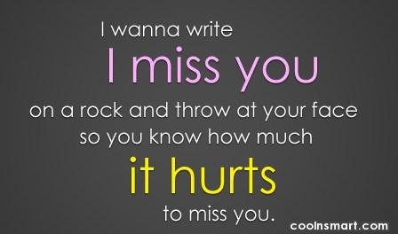 I Miss You Greeting Quotes