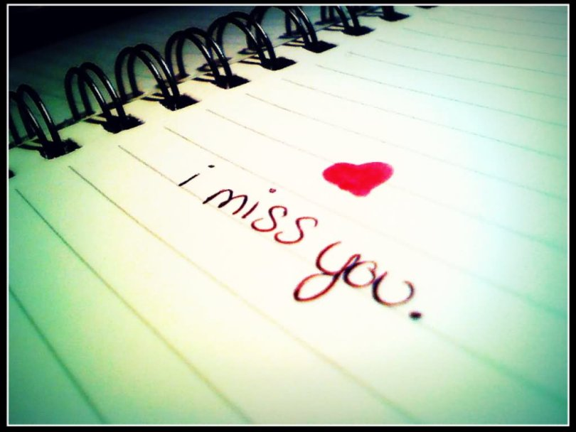 I Miss You Wishes Wallpaper