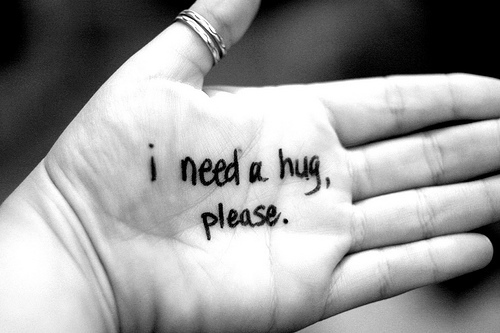 I Need A Hug Please. Happy Hug Day