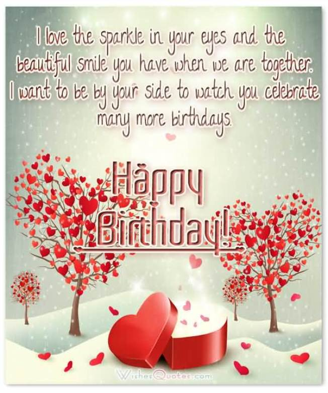 Incredible Happy Birthday Wishes For Sweetheart Greeting Card