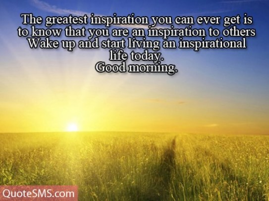 Inspirational Good Morning Wishes Image