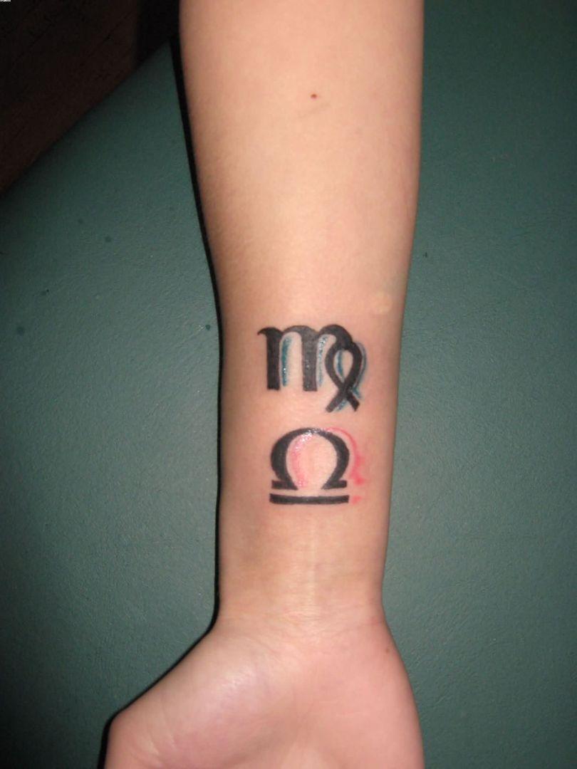 Inspirational Zodiac Sign Looks Like Magnet Tattoos On Wrist