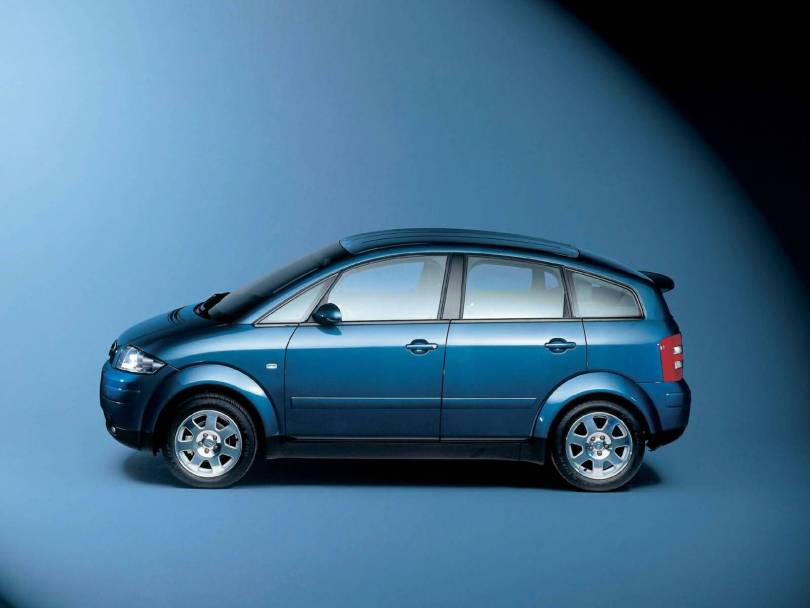 Left side view of Great Audi A2 Car