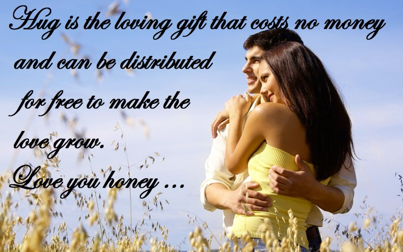 Love Quotes For Happy Hug Day Image