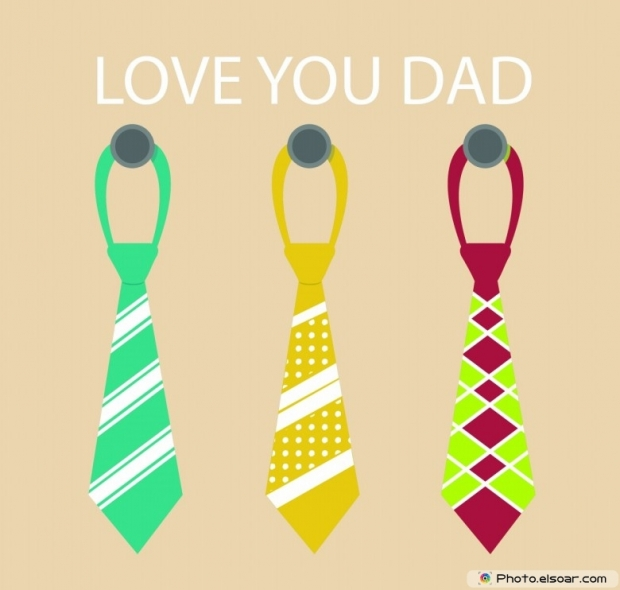 Love You Dad Happy Father's Day Image