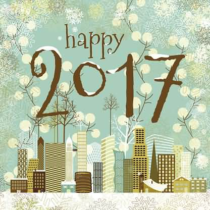 Lovely Greetings Card Image Happy 2017 Image
