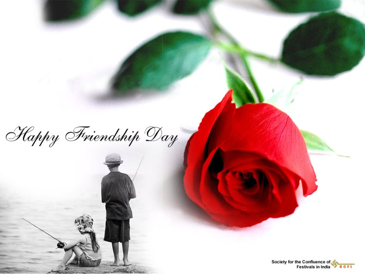 Lovely Happy Friendship Day Image