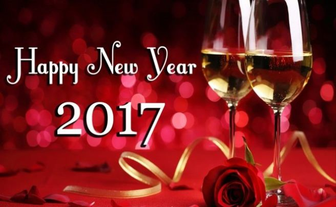 Lovely Happy New Year 2017 Wishes Image