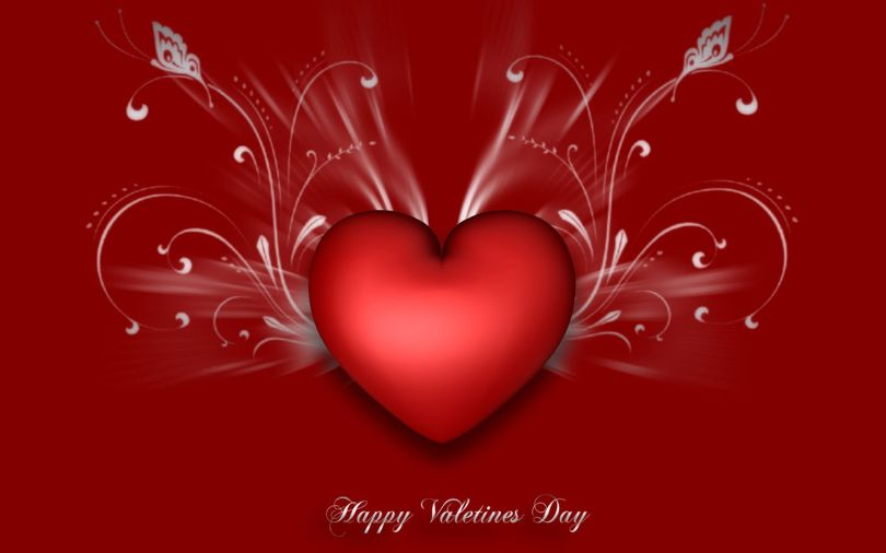 Lovely Happy Valentine Day Wish To My Handsome Boyfriend