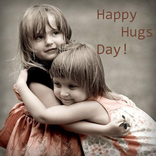 Lovely Hug Day Wishes Image