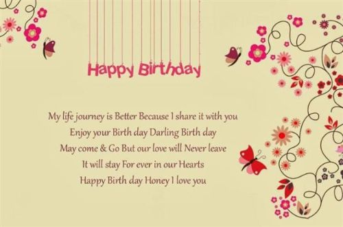 Lovely Husband Birthday Wishes Image
