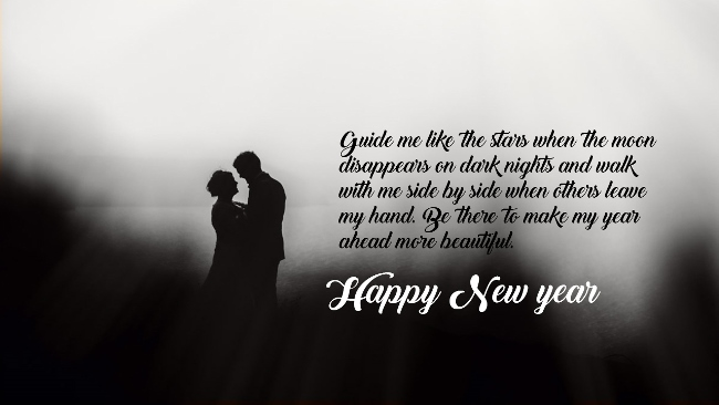 Lover Happy New Year Wishes Image