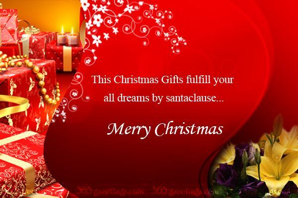 Merry Christmas Greetings Image