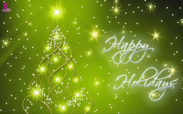 Merry Christmas & Happy Holiday Wishes Image