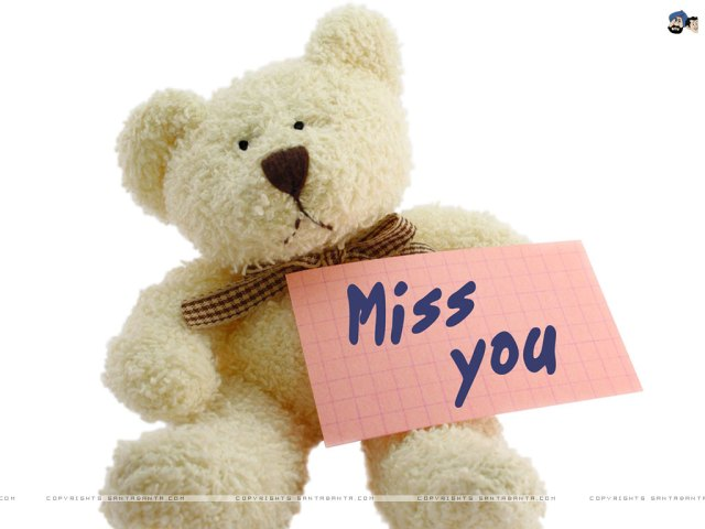 Miss You Greeting For Girlfriend