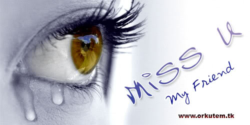 Miss You My Friend Facebook Wallpaper