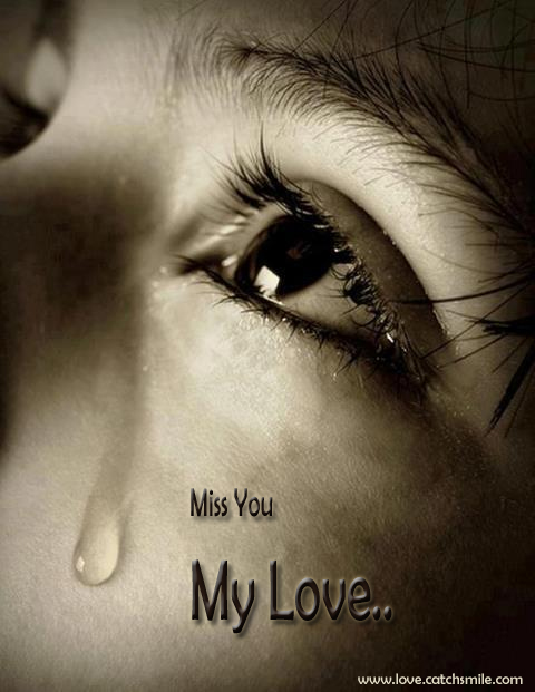 Miss You My Love Wallpaper