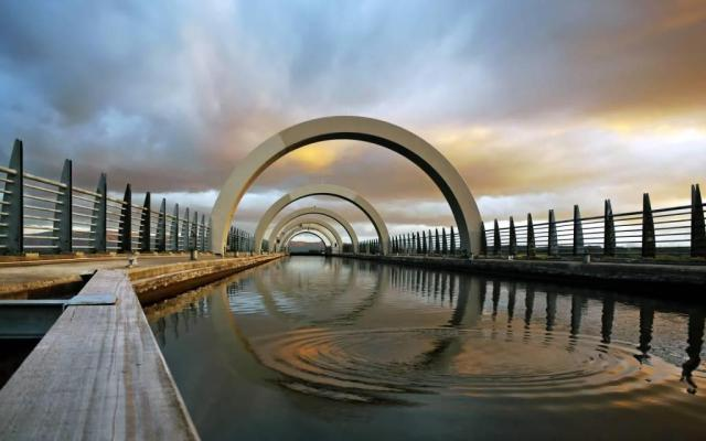 Most Amazing Falkirk Wheel Full HD Wallpaper