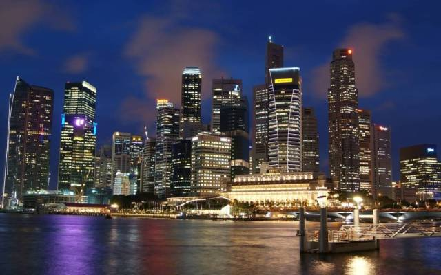 Most Amazing Singapore Cityscape Full HD Wallpaper