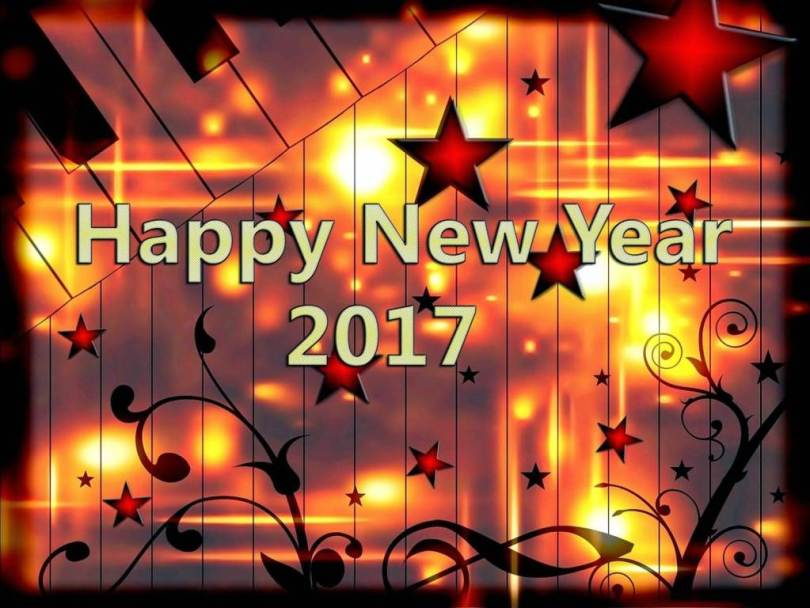 New Year 2017 Wishes Picture