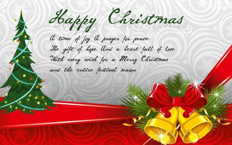 Nice Merry Christmas Greeting Image