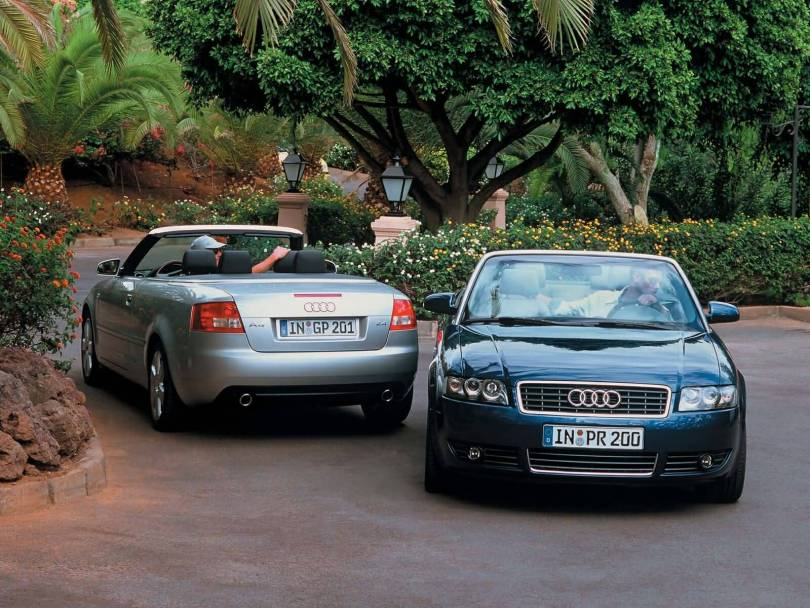 On the road Beautiful 2 Audi A4 Cabriolet cars Audi A4 Car HD Wallpaper