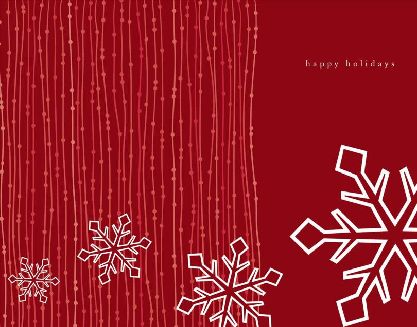 Perfect Happy Holiday Wishes Wallpaper