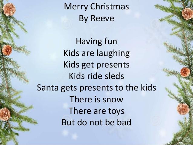 Poem Christmas Image