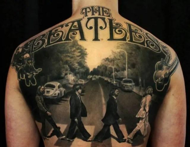 Rock Band Tattoo 006