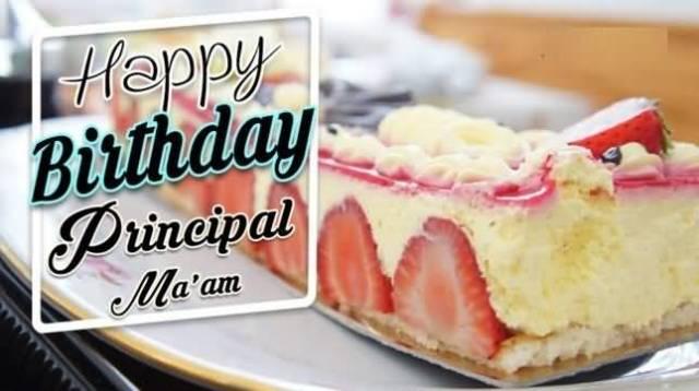 Principal Ma'am Birthday Greetings Image
