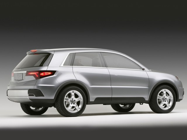 Right side silver beautiful Acura RDX Concept Car