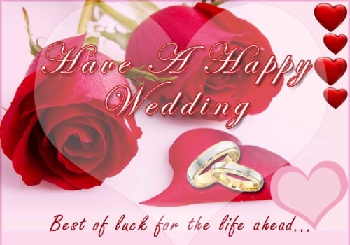 Romantic Wedding Greeting Image