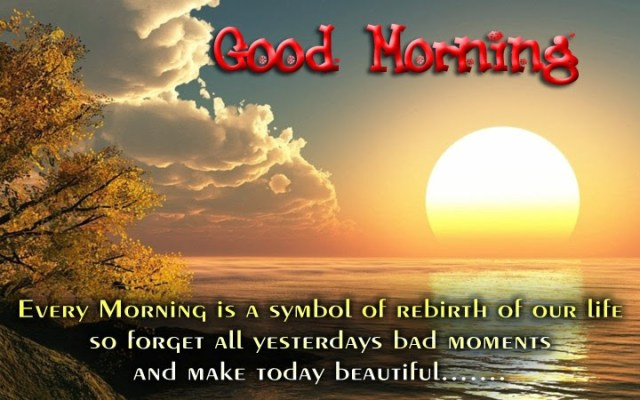 Special Good Morning Wishes Message