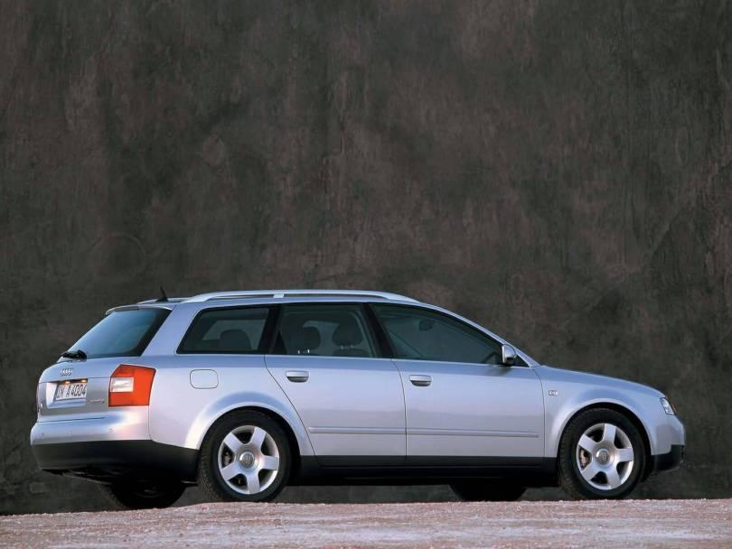 Stunning look silver Audi A4 Avant Car