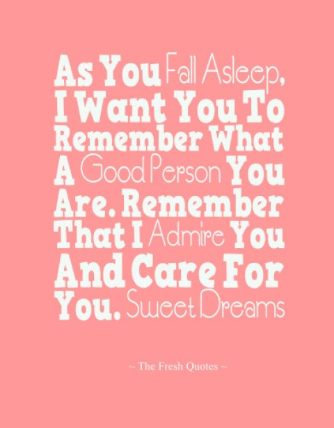 Sweet Dreams Good Night Wishes Quotes Image