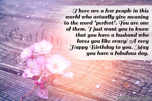 This World Happy Birthday To My Gorgeous Wife May You Have A Fabulous Day Quotes Image