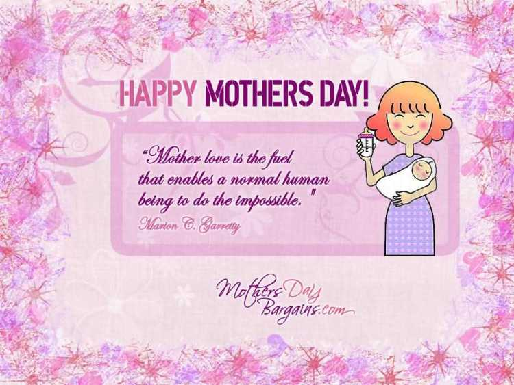 To Angel Mom Happy Mothers Day Wishes