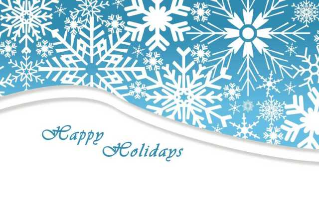 To Dear Friend Happy Holiday Wishes Image