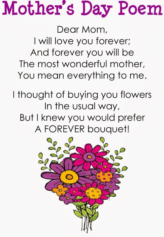 To Greatest Mom Poem Happy Mothers Day Wishes