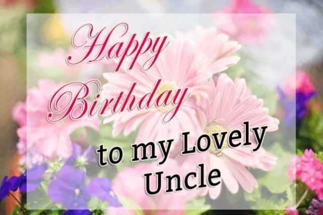 To My Best Uncle Happy Birthday Wishes Image