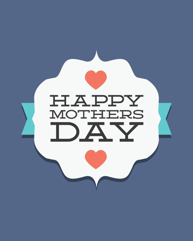To My Dear Mom Happy Mothers Day Wishes Image
