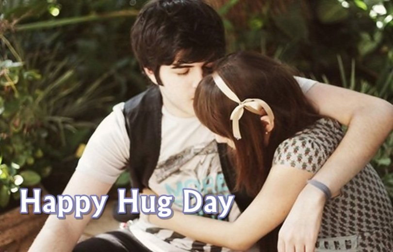 To My Gorgeous Girl Happy Hug Day Image