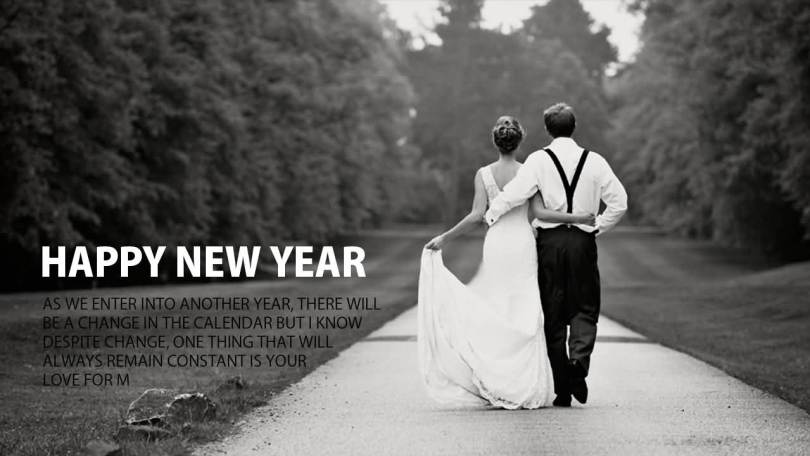 To My Gorgeous Girl Happy New Year Lovely Image