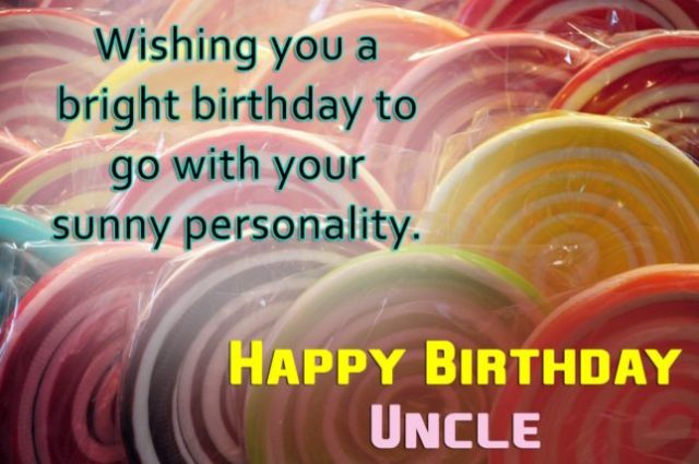 To My Great Great Uncle Happy Birthday Message Image