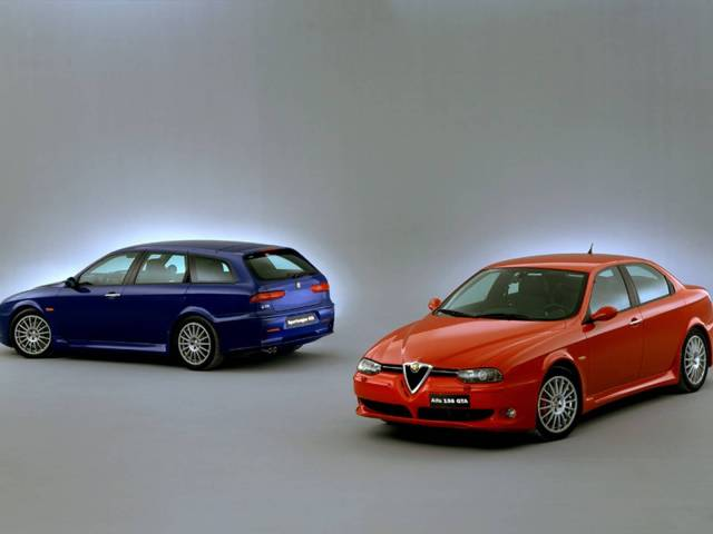 Two beautiful Alfa Romeo 156 GTA Car