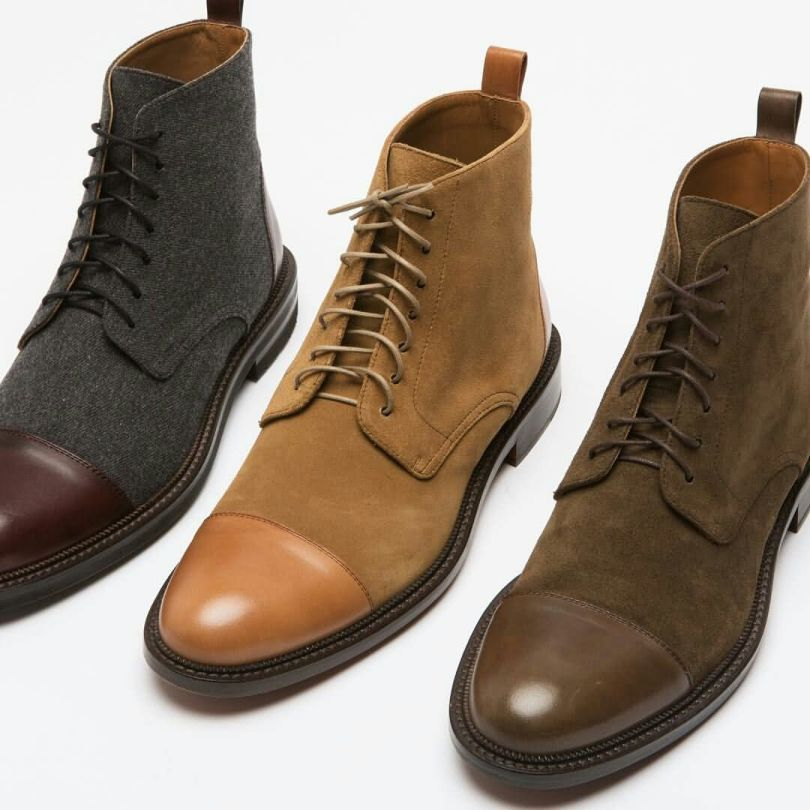 Very Expensive Brown Shade Highneck Shoe Collection