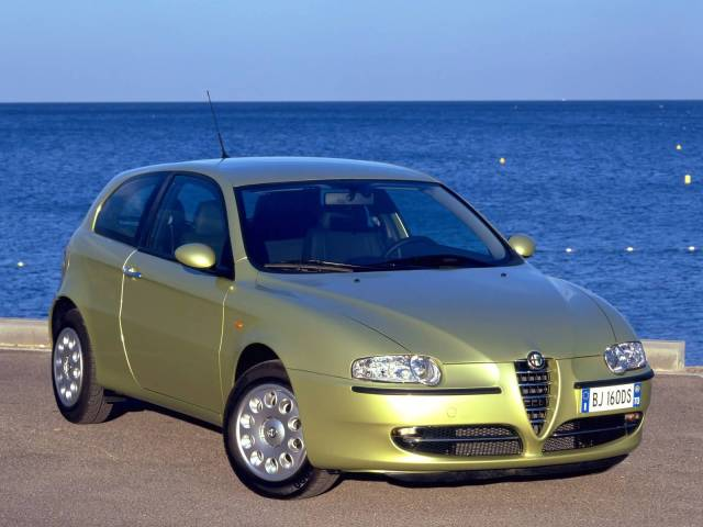 Very beautiful view of Alfa Romeo 147 Car
