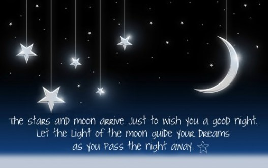 Wish You A Good Night Message Image
